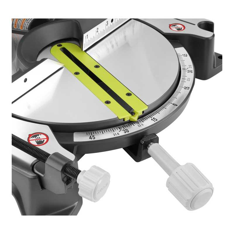 Ryobi 14 Amp 10 In Compound Miter Saw With Laser