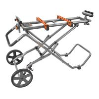 RIDGID Mobile Miter Saw Stand Used Deals