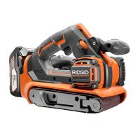 Deals on RIDGID GEN5X 18 Volt Brushless 3-In X 18-In Belt Sander Refurb