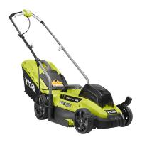 Deals on RYOBI ONE+ 18 Volt Li-Ion 13 In. Push Mower Kit Pre-owned