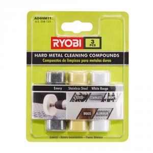 RYOBI Hard Metal Compound 3 Piece Set