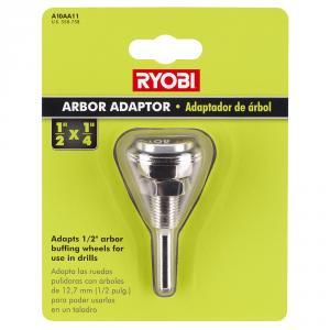 RYOBI 1/2 In. X 1/4 In. Buffing Arbor Adaptor
