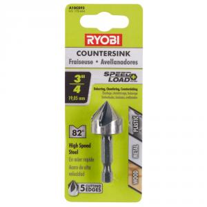 RYOBI SpeedLoad+ 3/4 In. Countersink