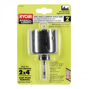 RYOBI 2 In. Carbon Hole Saw