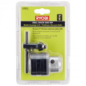 RYOBI 1/2  In. 20 TPI Drill Chuck & Key
