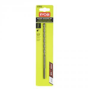 RYOBI 1/4 In. X 6 In. Masonry Drill Bit
