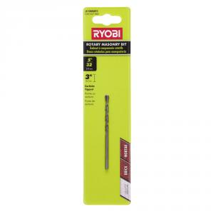 RYOBI 5/32 In. Black Oxide Rotary Masonary Bit
