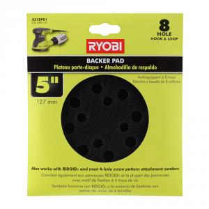 RYOBI 5 In. Backer Pad for Orbital Sanders