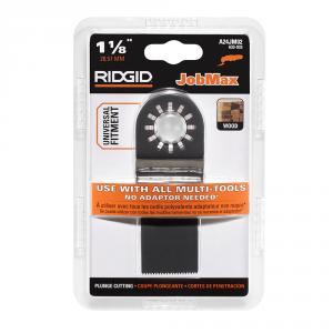 RIDGID JobMax 1-1/8  In. Wood Plunge Cut Blade