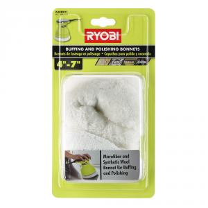 RYOBI 4 to 7 In Buffing Bonnets
