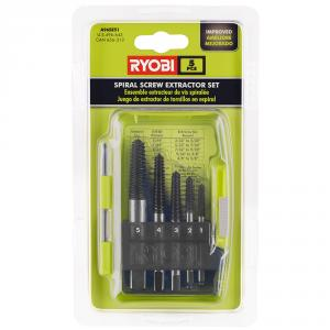 RYOBI Spiral Screw Extractor 5 Piece Set