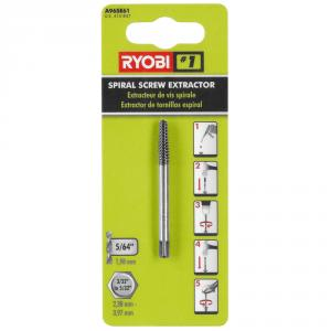 RYOBI No. 1 Spiral Screw Extractor