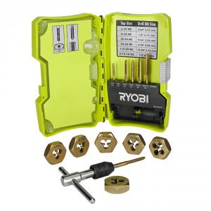 RYOBI Tap and Die 13 Piece Set