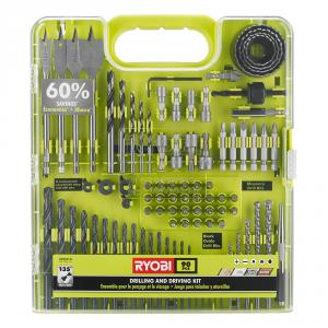"RYOBI 90 Piece Drill and Drive <em class=""search-results-highlight"">Kit</em>"