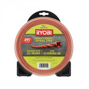 RYOBI .095 In. X 110 Ft. Spiral Co-Extruded Trimmer Line