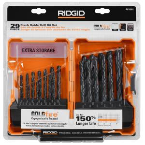 RIDGID Black Oxide Drill Bit 29 Piece Set