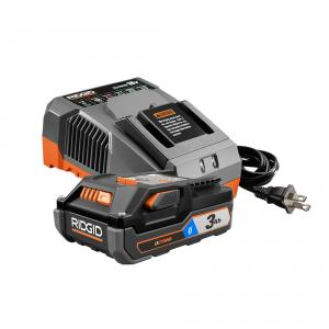 RIDGID 18 Volt 3Ah Bluetooth Battery Starter Kit