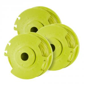 RYOBI Replacement Twisted .080 Auto Feed Line Spool 3 Pack