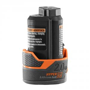 RIDGID 12 Volt Lithium-Ion 2 Ah Battery Pack