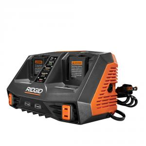 "RIDGID GEN5X 18 Volt Dual <em class=""search-results-highlight"">Port</em> Sequential Charger with Dual USB <em class=""search-results-highlight"">Ports</em>"