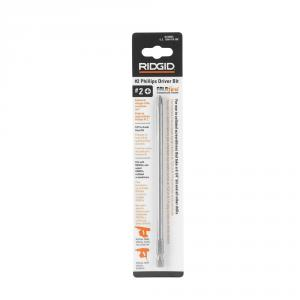 RIDGID 6-1/4  In. Phillips #2 Collated Screw Gun Bit