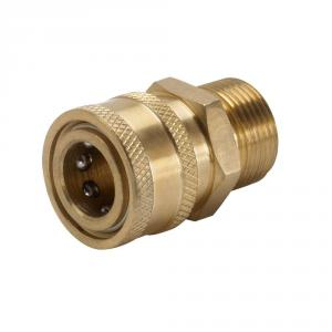 POWER CARE 3/8 In. Female Quick Connect x Male M22 Pressure Washer Connector
