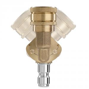 POWER CARE Quick-Connect Pivoting Coupler