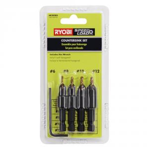 RYOBI SpeedLoad+ Countersink 5 Piece Bit Set