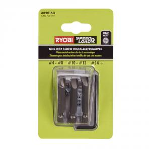 RYOBI One-Way Screw Remover/Installer 3 Piece Set