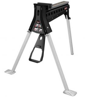 BLACK MAX Portable Clamping Work Station with Hands-Free Operation
