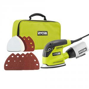 RYOBI 1.2 Amp Corded 5.5 In. Corner Cat Sander Kit