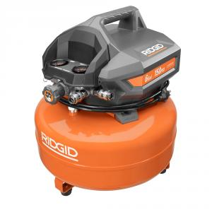 "RIDGID 6 Gal Portable Electric Pancake <em class=""search-results-highlight"">Air</em> Compressor"