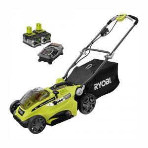 RYOBI ONE+ 18 Volt Lithium-Ion Hybrid 16 In. Push Mower Kit