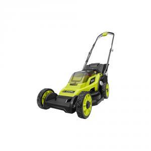 RYOBI 13 in. ONE+ 18 Volt Cordless Battery Walk Behind Push Lawn Mower Kit