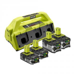 "RYOBI ONE+ 18 Volt 6-<em class=""search-results-highlight"">Port</em> SUPERCHARGER Kit"