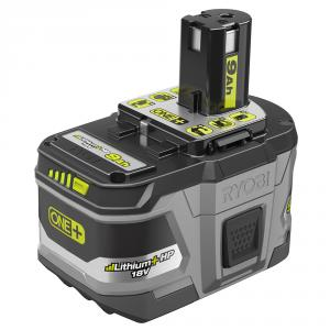 RYOBI ONE+ 18 Volt Lithium+ 9Ah High Capacity Battery