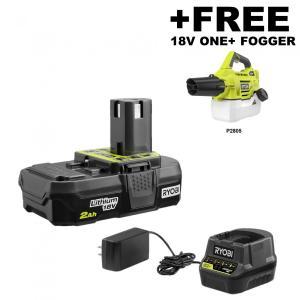 RYOBI 18 Volt ONE+ Cordless Battery Fogger/Mister Kit