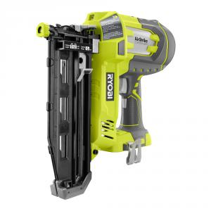 RYOBI ONE+ 18 Volt AirStrike 16-Gauge Straight Finish Nailer