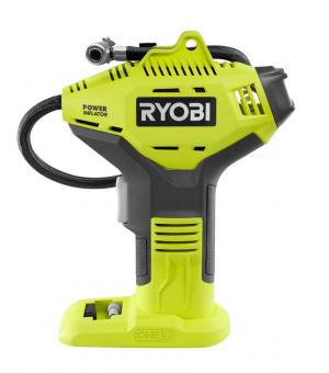 RYOBI ONE+ 18 Volt High Pressure Inflator with Digital Gauge