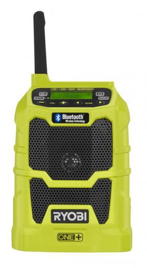 RYOBI ONE+ 18 Volt Compact Radio With Bluetooth Wireless Technology