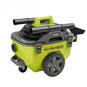 RYOBI ONE+ 18 Volt 6 Gallon Wet/Dry Vacuum Kit with 9.0 Ah Lithium+ HP Battery