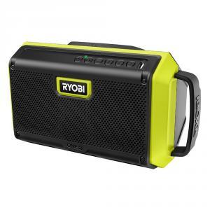 RYOBI 18 Volt ONE+ Speaker with Bluetooth Wireless Technology
