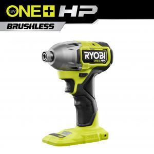 RYOBI 18 Volt ONE+ HP Brushless Cordless 1/4 in. 4-Mode Impact Driver