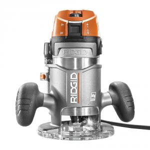 RIDGID 11 Amp 2 HP 1/2 In. Corded Fixed Base Router
