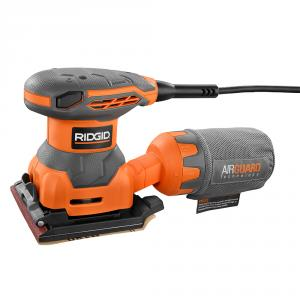 RIDGID  1/4 Sheet AIRGUARD Techonlogy Sander