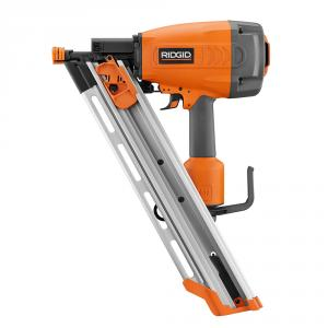 RIDGID Pneumatic 3-1/2  In. Clipped Head Framing Nailer