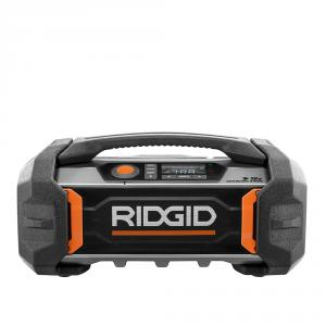 RIDGID 18 Volt Bluetooth Charger Radio