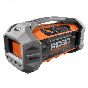 RIDGID Gen5X 18 Volt Jobsite Radio with Bluetooth Technology
