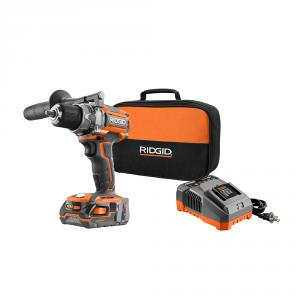 RIDGID Gen5X 18 Volt Lithium-Ion 1/2 In. Brushless Compact Drill/Driver Kit