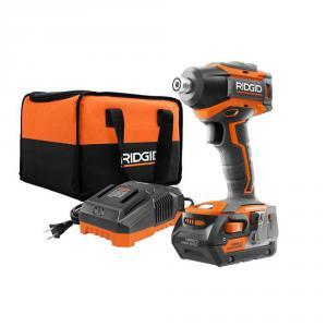 RIDGID GEN5X 18 Volt Brushless 3-Speed Impact Driver 4 Ah Battery Kit